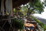 The restaurant of Tauch Terminal, Tulamben, Bali