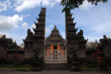 The Bali Museum is built to resemble a Balinese palace