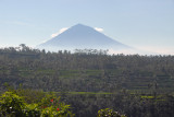 Gunung Agung in the distance