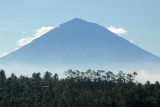 Gunung Agung, the highest peak in Bali (3142m)