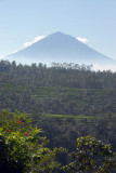 Early morning view of Gunung Agung