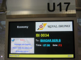 Royal Brunei flight 34 BKK-BWN  (Bandar Seri Begawan)