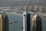 Dubai Marina and Palm Jumeirah