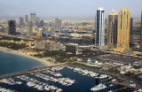 Dubai International Marine Club aerial