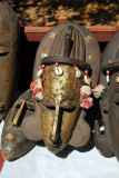 African masks, Mali