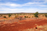 Scenery between Sévaré and Bandiagara, Mali