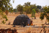African hut, Mali