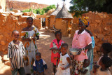 A Dogon family in Songho