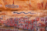 Cave paintings, Songho