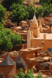 Although the Dogon are traditionally animist, each village has a mosque