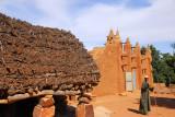 Dogon casa palava or to guna near the mosque of Songho