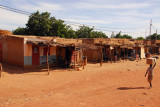 Bandiagara, the main settlement of Dogon Country, 11km from Songho
