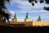Large mosque in Bandiagara, Mali