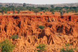Erosion outside Bandiagara, Dogon Country