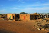 Village along the Bandigara-Mopti road