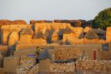 The first shadows of evening cross the Dogon village of Daga-Tireli