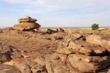 The top of the Bandiagara Escarpment, part of the Dogon Plateau