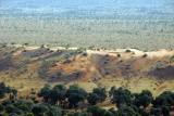 Sand dune at the base of the Bandiagara Escarpment, Dogon Country