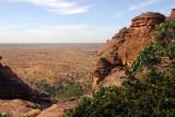 Trekking down the Dogon Escarpment from Daga to Tereli