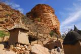 Granaries of the Dogon village of Tireli