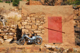 The only motor vehicle we saw in the Dogon villages we visited