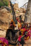 Dogon animal mask dancer - oryx
