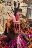 Dogon animal mask dancer
