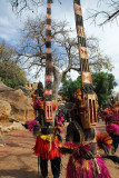 Sirige mask dancers, Dogon Country