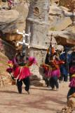 Dogon Kanaga Masks lead to clear away the spirits