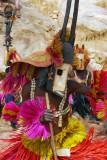 Dogon animal mask dancer - antelope