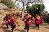 Dogon mask dancers, Tereli