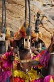 Dogon animal mask dancers - antelope