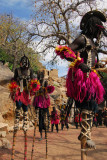 Dogon stilt dancers - waterbird or Fulani women