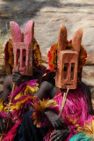 Dogon animal masks - hyenas