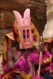 Dogon animal mask - Hyena