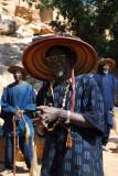 The tribal elder of Tereli thanks us for coming