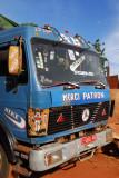 Decorated Malian truck