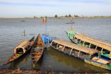 Pinasse on the Niger River at Mopti