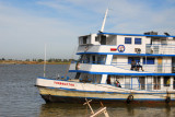 The large riverboat Tombouctou at Mopti