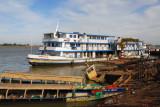 Mopti's busy riverfront