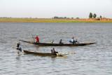 Fishing pirogues, Niger River, Mopti