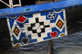 Decoration on a pinasse, Mopti