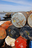 55-gallon drums, Port of Mopti