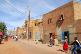 Main street of old town Mopti