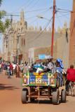 Donkey cart in Mopti