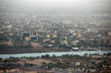Downtown Khartoum along the Blue Nile