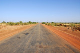 The main east-west highway through Mali connecting Bamako and Gao, this portion between Konna and Douentza