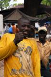 Thumbs up, Bamako