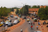The main road out of town, Route de Ségou, 907km to Timbuktu