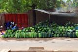 Watermelon stand, Route de Ségou, Bamako